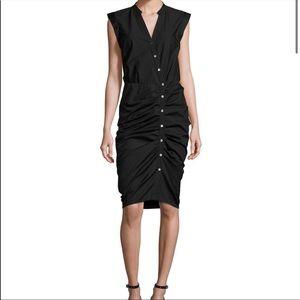 Veronica Beard black shirt dress. Size 6. EUC